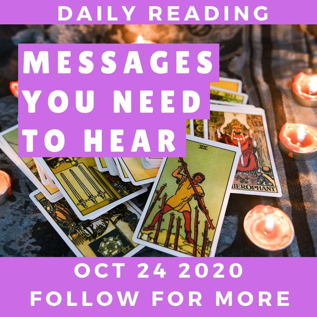 Daily Reading October 24 2020