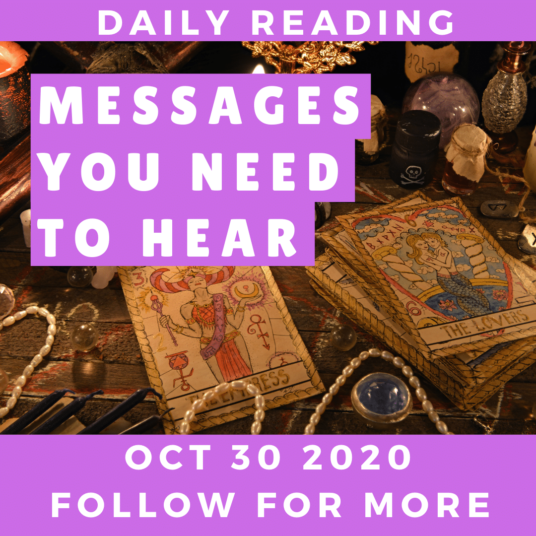 Daily Reading October 30 2020
